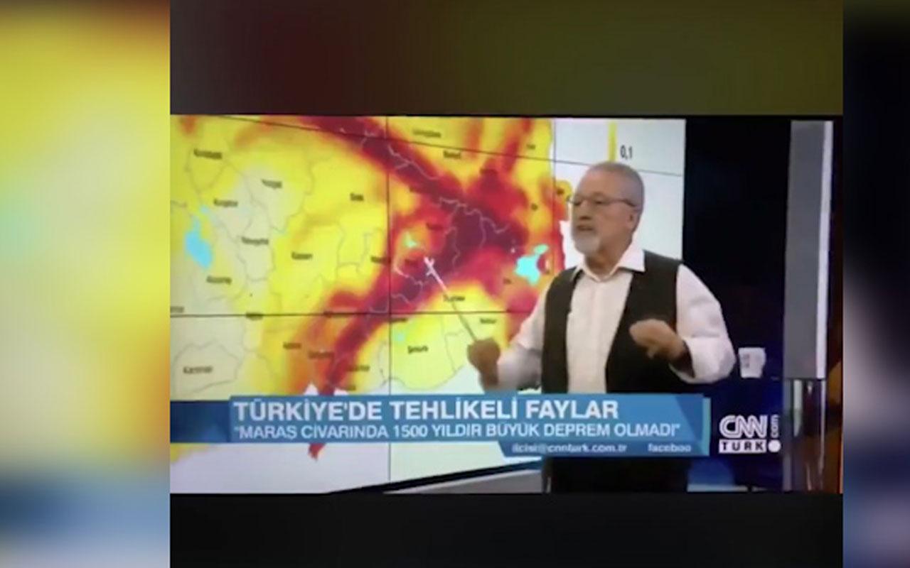 Naci Görür katıldığı TV programında Elazığ depremini nokta atışıyla söylüyor