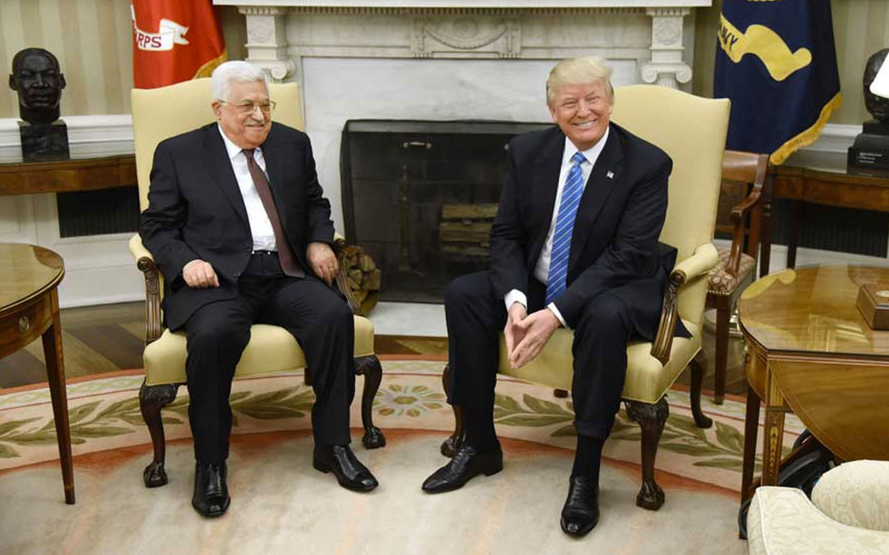 Mahmud Abbas ABD Başkanı Trump'ın telefonuna çıkmadı