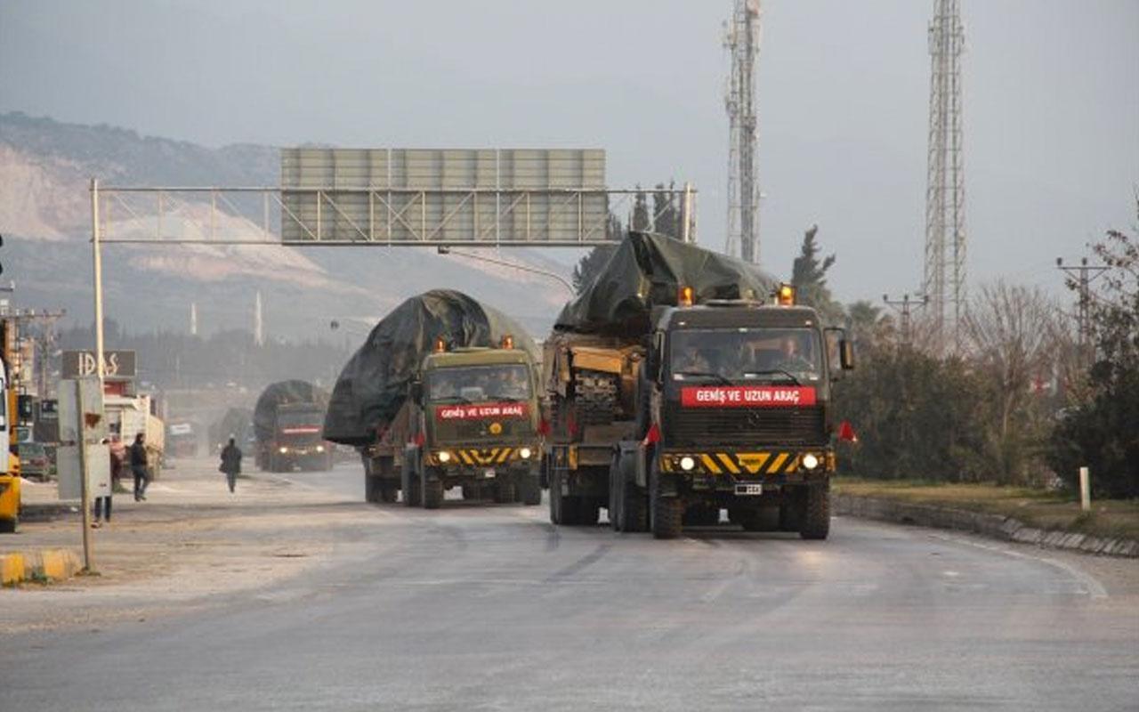 TSK'dan uzun bir aranın ardından Suriye sınırına tank sevkiyatı
