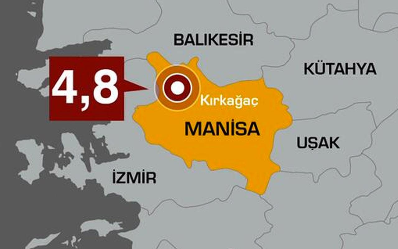 Manisa'daki 4.8'lik deprem sonrası uzmanlardan çarpıcı yorumlar