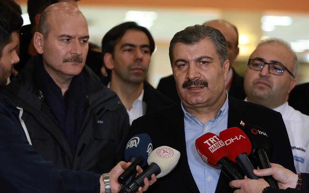 Sağlık Bakanı Fahrettin Koca: Koronavirüsüne rastlanılmadı