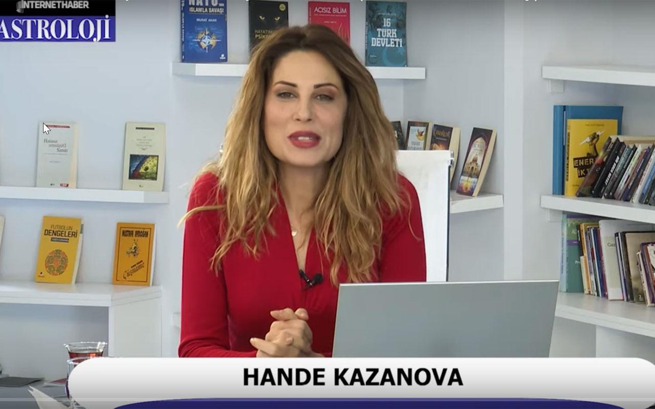 Hande Kazanova Şubat ayı burç yorumları Merkür gerilemesi etkileri