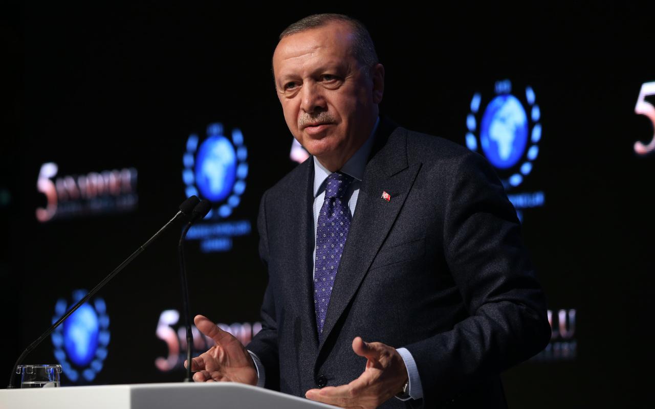 Cumhurbaşkanı Erdoğan: Yüzyılın anlaşması dedikleri bir işgal projesidir