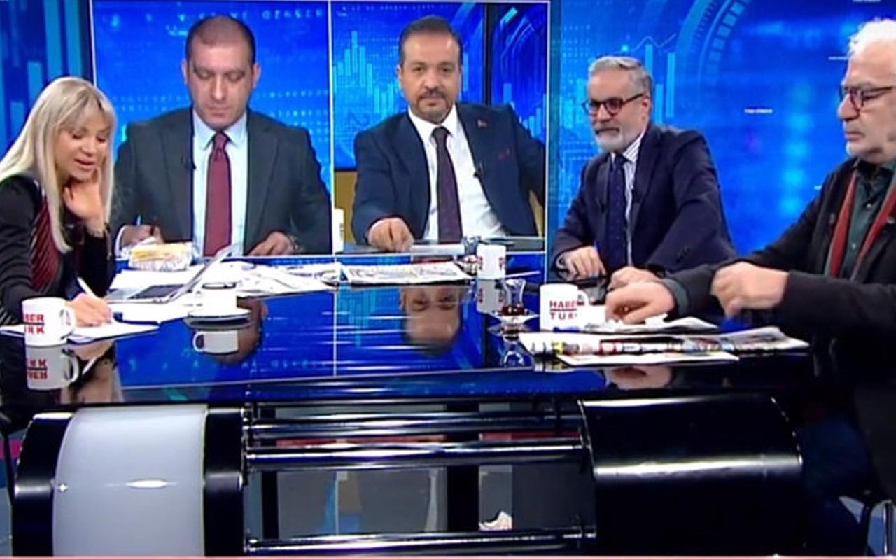 Bülent Aydemir'in saygısızlığına Hadi Özışık yayını terk ederek tepki gösterdi