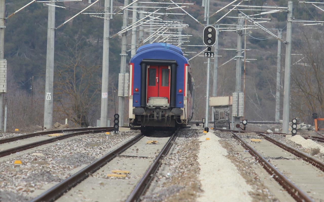 Bursa'dan tren geçiyor ama kimse bilmiyor