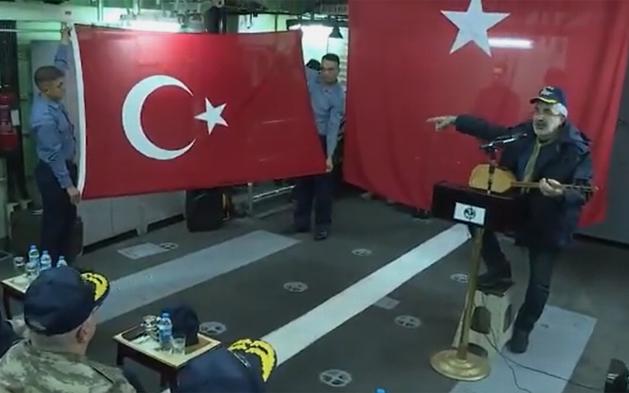 MSB'den Türk bayrağını yırtan ırkçı Yunan milletvekiline videolu tepki