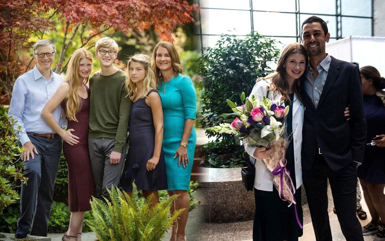 Bill Gates'in damadının mesleğini duyan şaşıp kaldı büyük kızı evleniyor