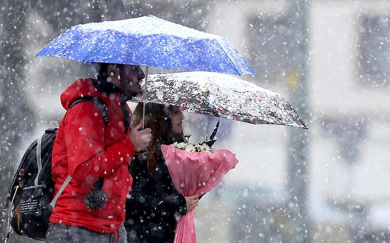 Meteoroloji uyardı: Yoğun kar yağışı olacak! Deprem bölgesine dikkat