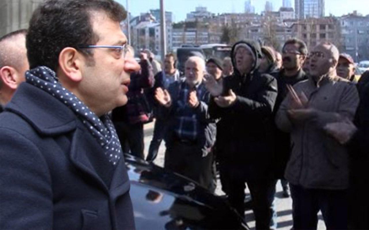 Ekrem İmamoğlu'nu CHP'nin kalesi Şişli'de yuhaladılar! Neye uğradığını şaşırdı