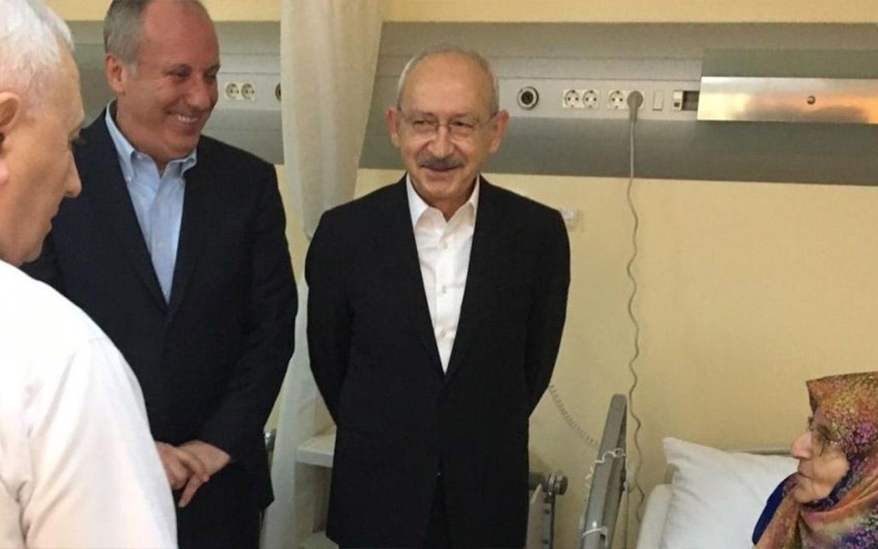 Kılıçdaroğlu ve İnce 'Beştepe'ye giden CHP'li' iddiası sonrası ilk kez bir araya geldi