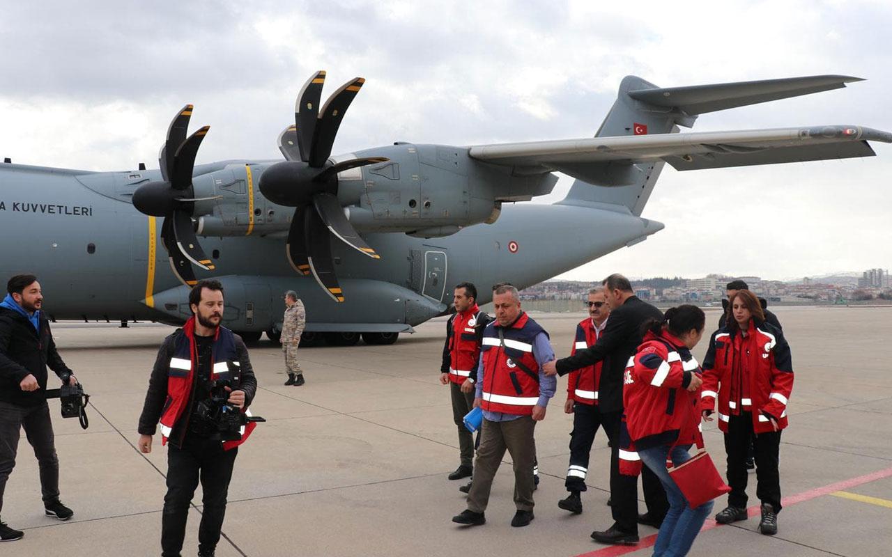 Çin'deki Türk vatandaşlarını getirecek uçak yola çıktı!