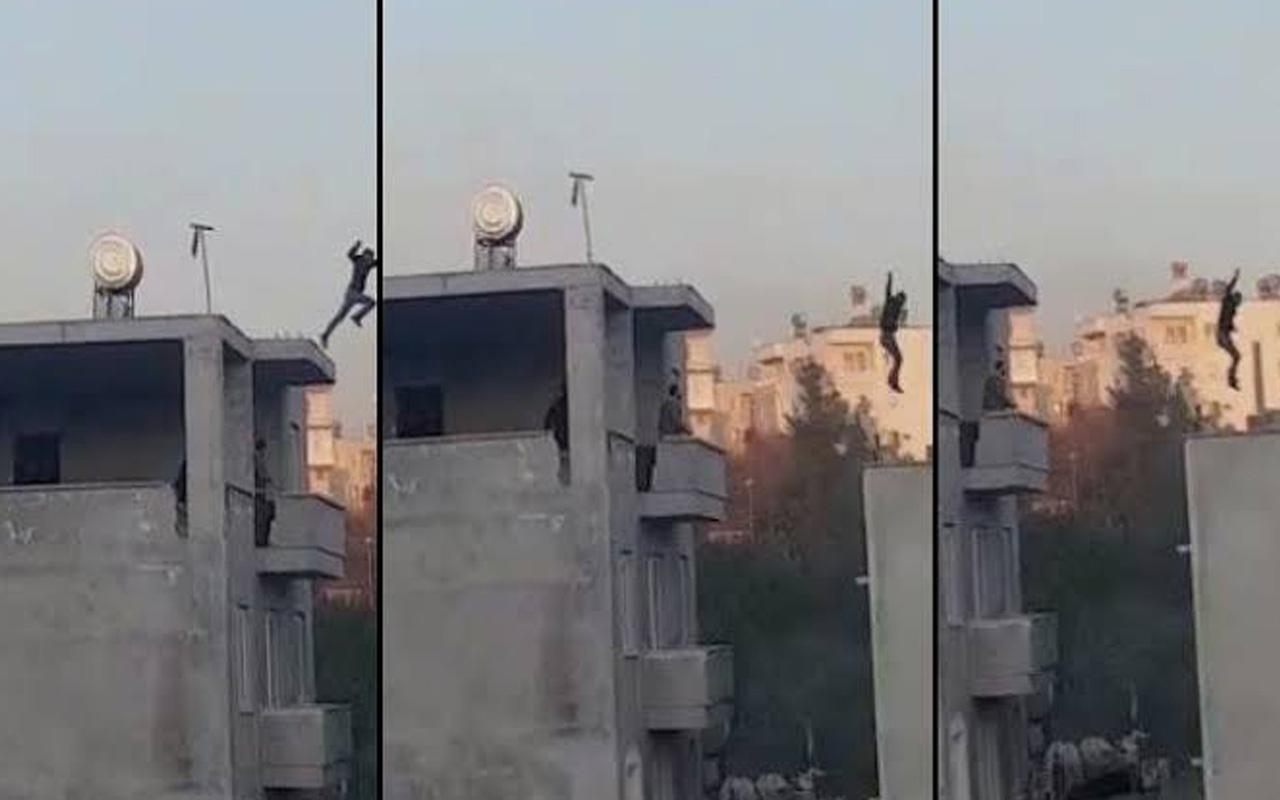 Mersin'de 'Uçan torbacı' ayağını kırınca yakalandı