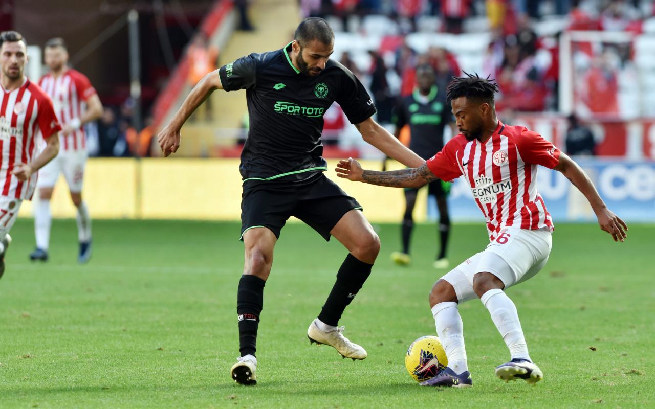 Antalyaspor'la Konyaspor yenişemedi
