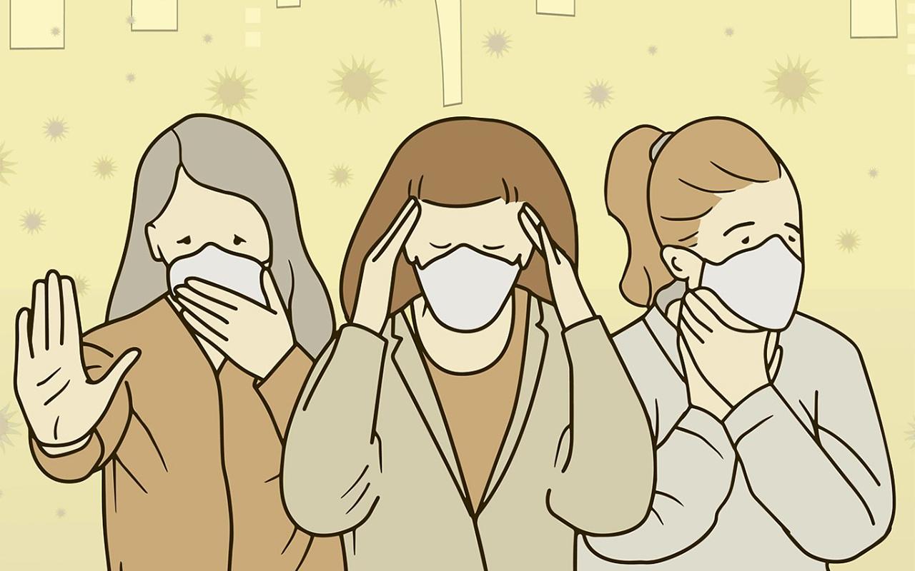 Türkiye'deki fabrikalar yurt dışından gelen ağız maskesi taleplerine yetişmeye çalışıyor