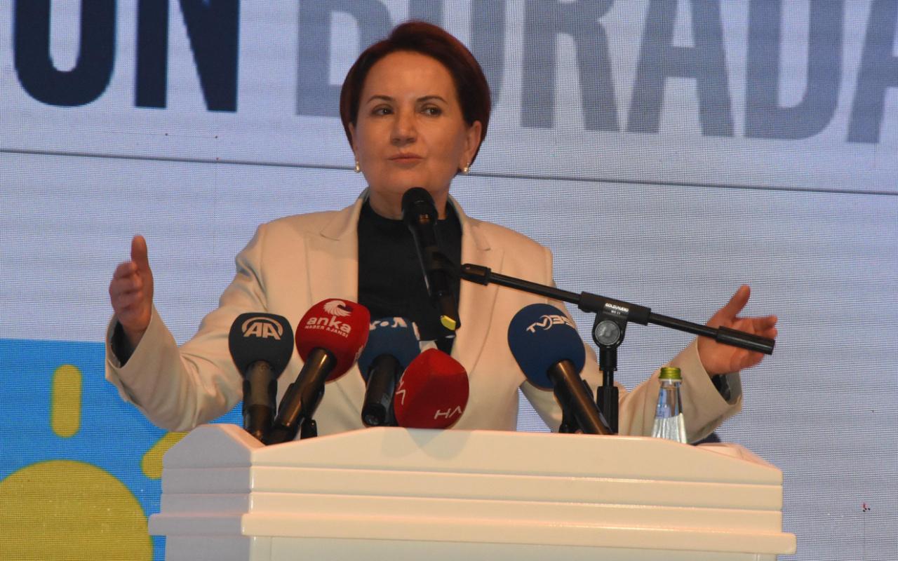 Meral Akşener anket sonuçlarını açıkladı