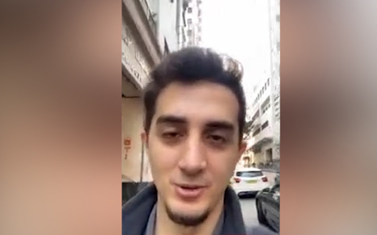 Ünlü YouTuber Ruhi Çenet koronavirüsü incelemek için Çin'e gitti