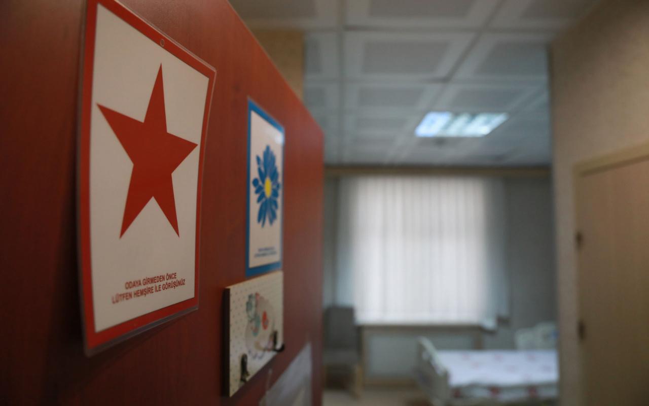 Çin'den gelenler için hazırlanan hastanenin görüntüleri paylaşıldı