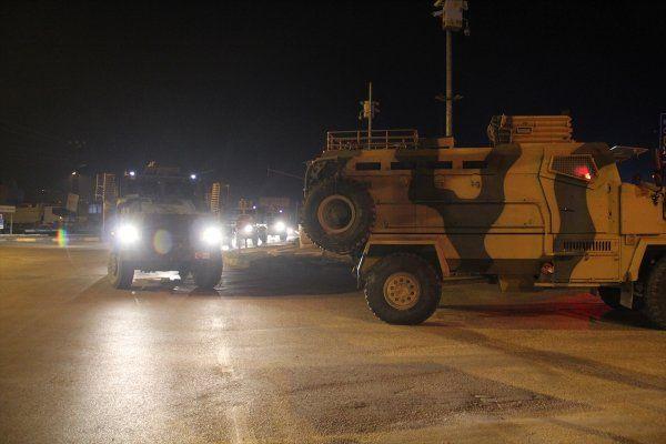 Hain saldırının ardından sınıra tank ve komando sevkiyatı
