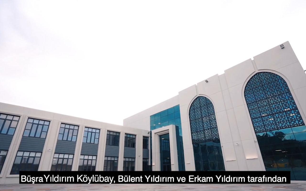 İstanbul'da 'Binali Yıldırım İlkokulu ve Anaokulu' açıldı