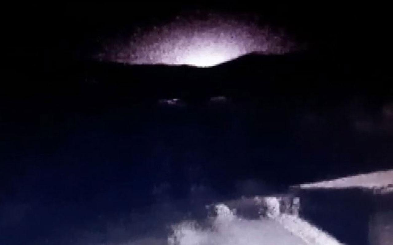 Elazığ'daki esrarengiz ışığın kaynağı açıklandı