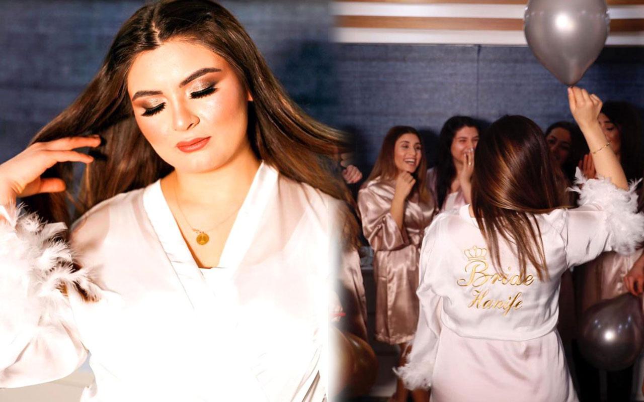 Hanife Gürdal'ın düğün fotoğrafları sosyal medyayı salladı Kemal Ayvaz'la evli
