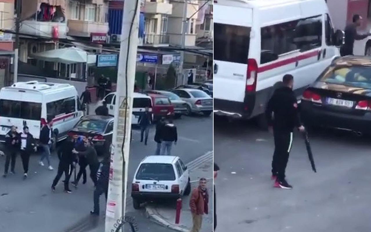 İzmir'de güpegündüz pompalı dehşeti! O anlar saniye saniye kaydedildi