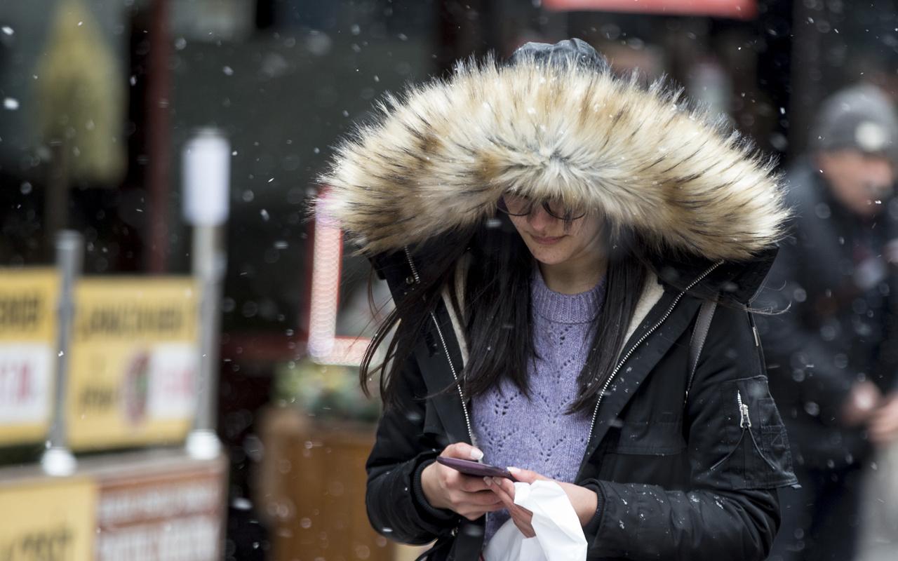 Kırklareli'de kar bastırdı saatlik hava durumu fena