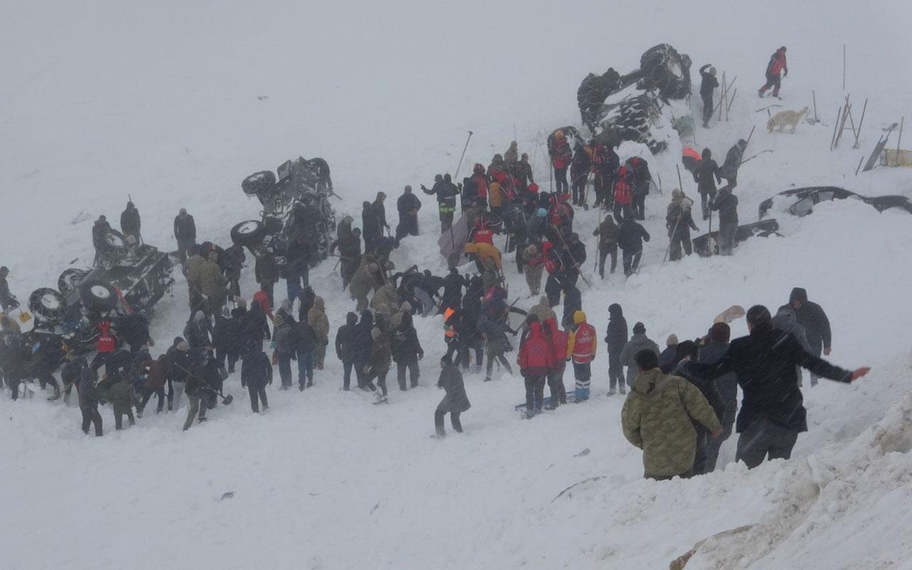 AFAD'tan Van'daki ikinci çığ felaketi ile ilgili açıklama! 85 kişilik yeni ekip yolda