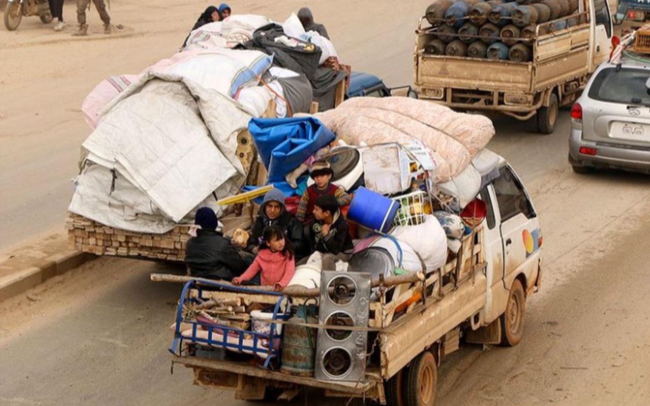 Esed saldırıları nedeniyle Türkiye sınırına iki günde 40 bin sivil göç etti