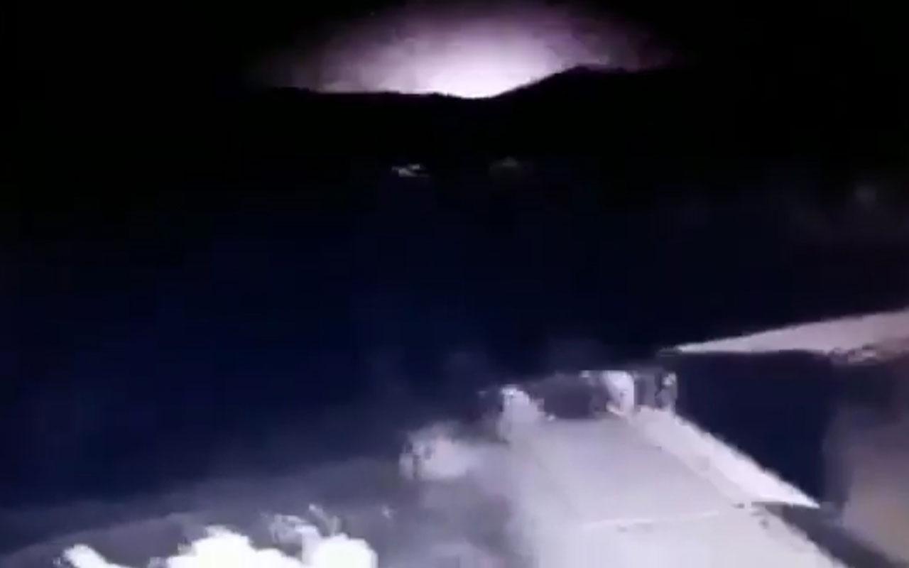 Görgü tanıkları Elazığ depreminde görülen ışık patlamasını anlattı