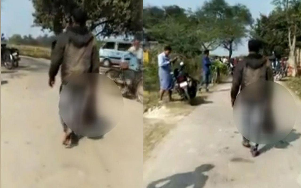 Hindistan'da koca vahşeti! Elinde eşinin kesik kafası ile yürüdü