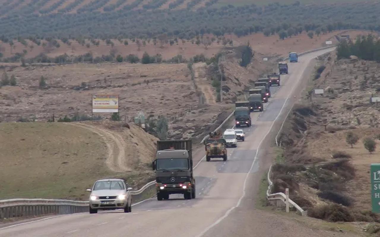 Erdoğan Suriye'ye süre verdi! İdlib sınırına askeri sevkiyat görüntülendi