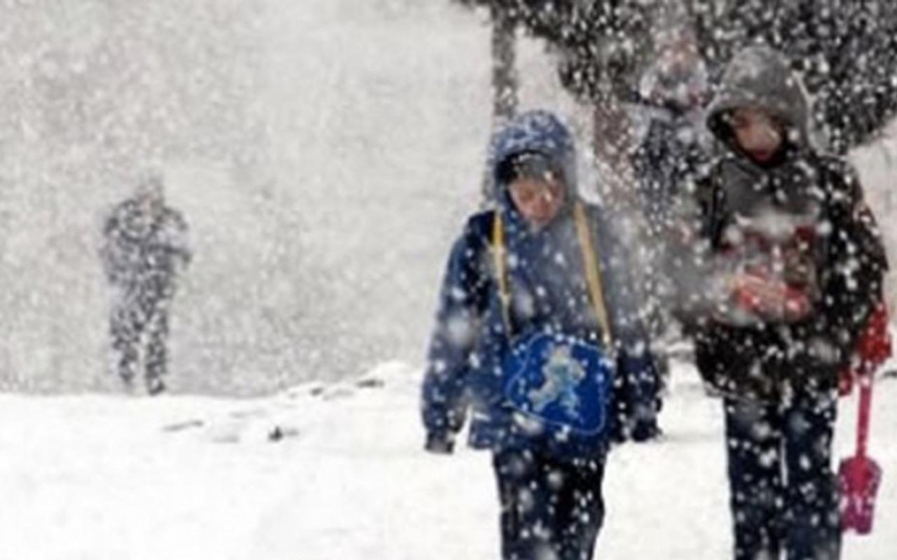 Erzincan'da okullar tatil mi 5 Şubat valilik kar tatili yaptı