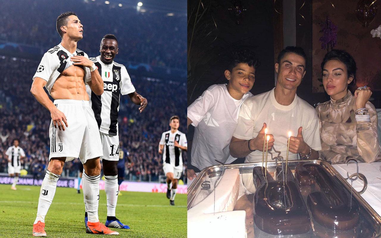 Georgina Rodriguez'den Ronaldo'ya hediye araba