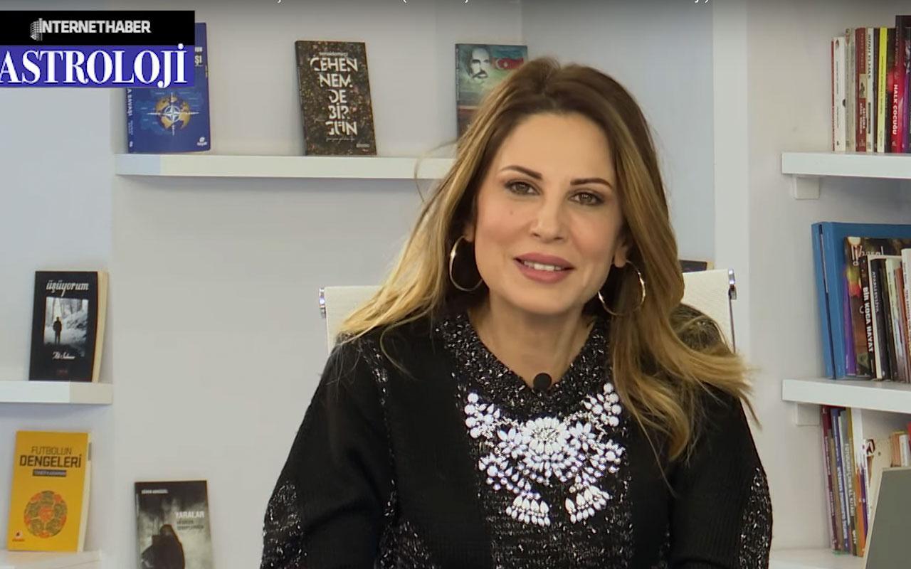 Hande Kazanova 10-16 Şubat haftalık burç yorumları sevgililer gününe dikkat
