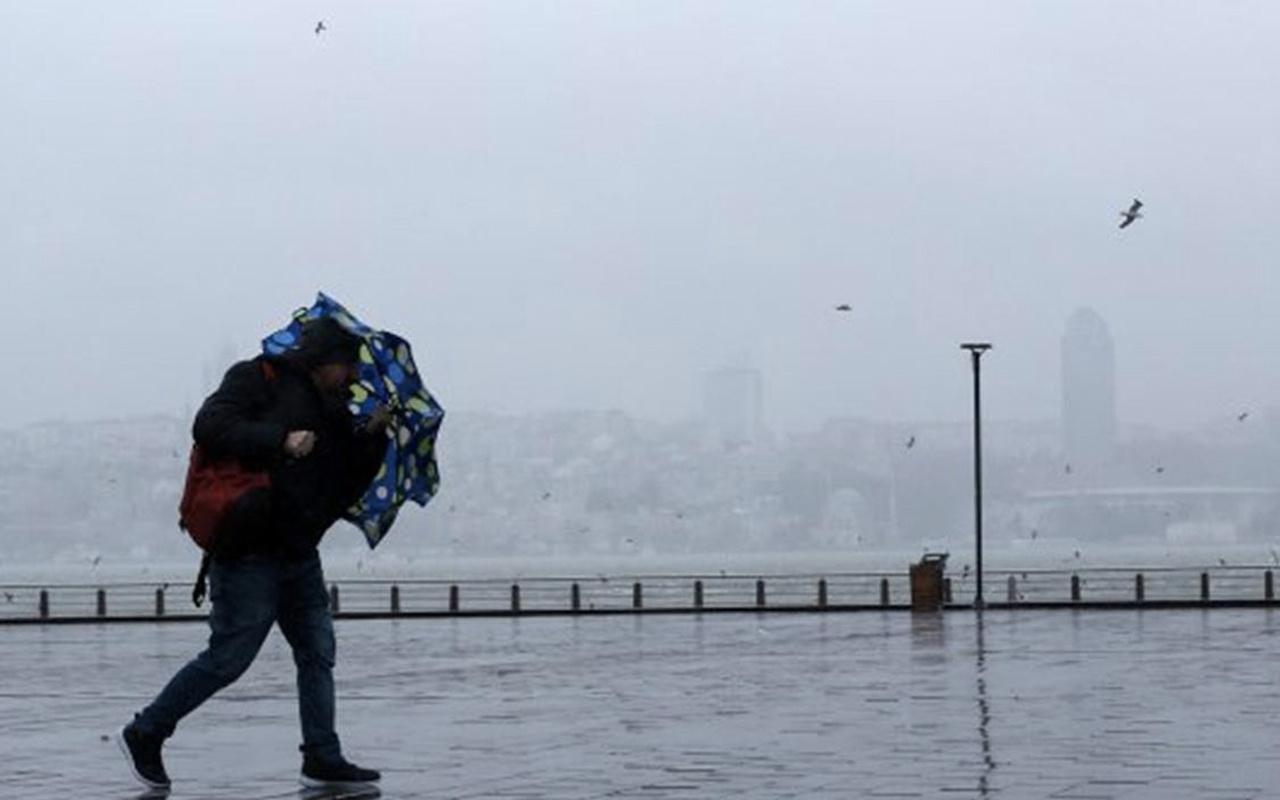 Kayseri'de okullar tatil mi şiddetli rüzgar vurdu valilik duyurdu
