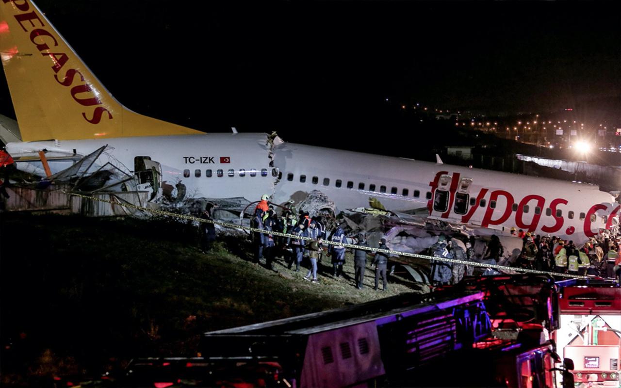 Sabiha Gökçen'de düşen uçağın ikinci pilotundan kafa karıştıran ifade 'Kule inmeyin demedi'