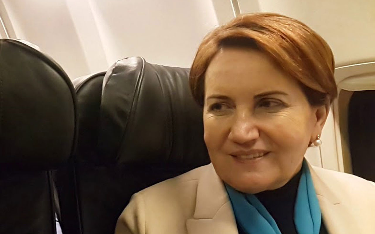 Meral Akşener'i taşıyan uçakta türbülans paniği