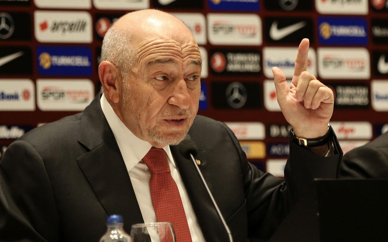 TFF Başkanı Nihat Özdemir'den istifa iddialarına yanıt