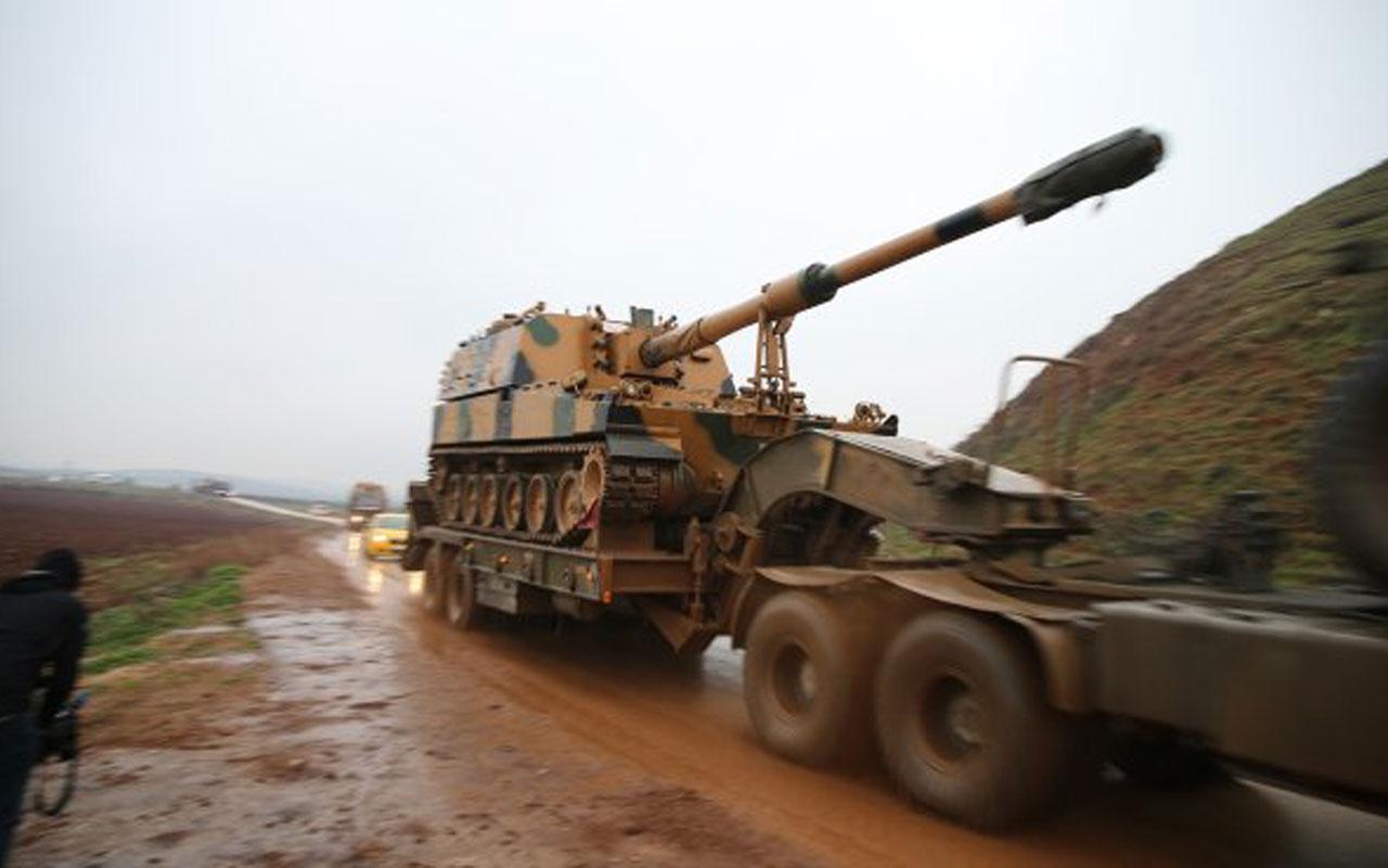 İblib'e harekat mı başlıyor tanklar ve obüsler sınıra gidiyor