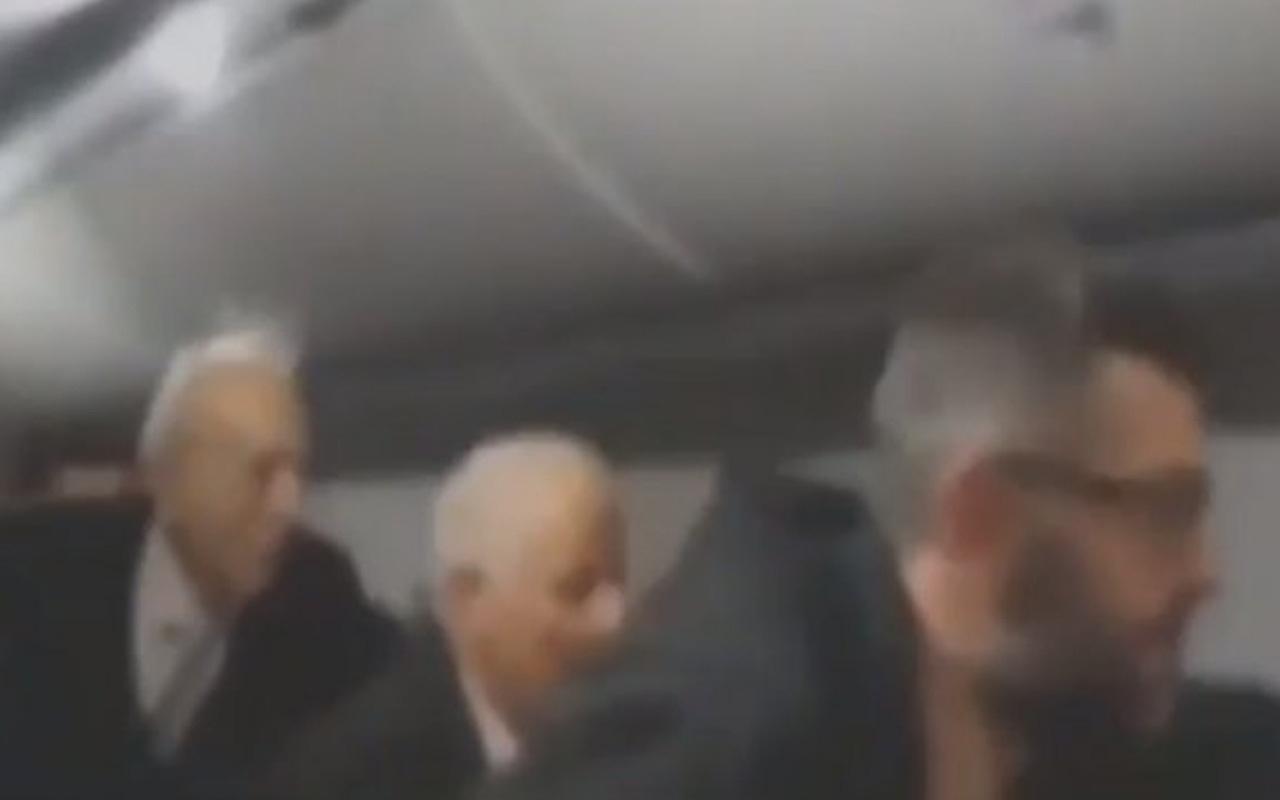 Pegasus uçağının kazası sonrası uçağın içindeki panik anları kameralara yansıdı!