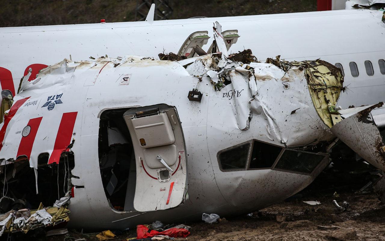 Sabiha Gökçen'deki uçak kazasının görüntüleri dehşete düşürdü