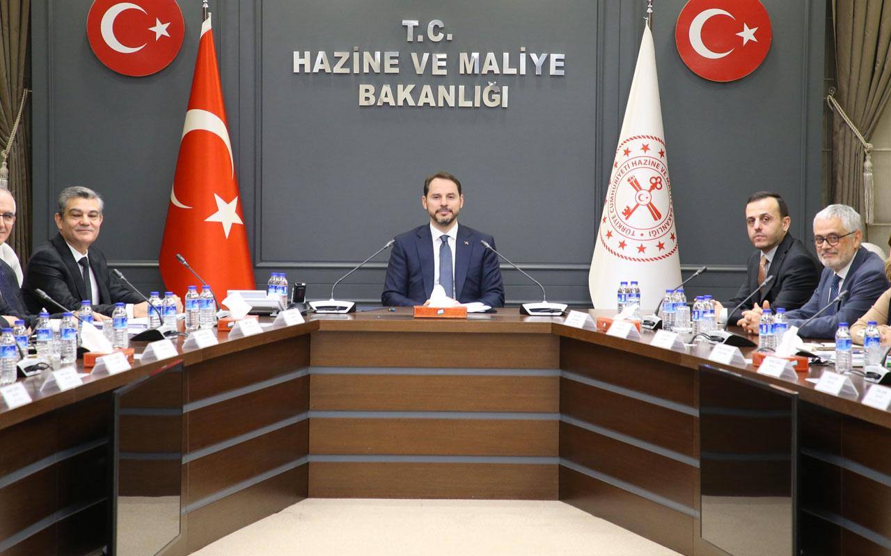 Bakan Berat Albayrak'tan sigorta sektörü temsilcileriyle kritik toplantı