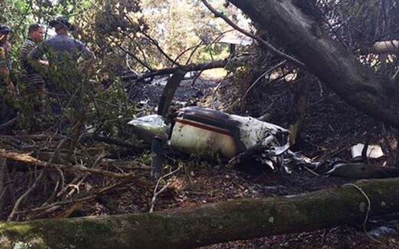 ABD'de uçak düştü: 5 kişi öldü