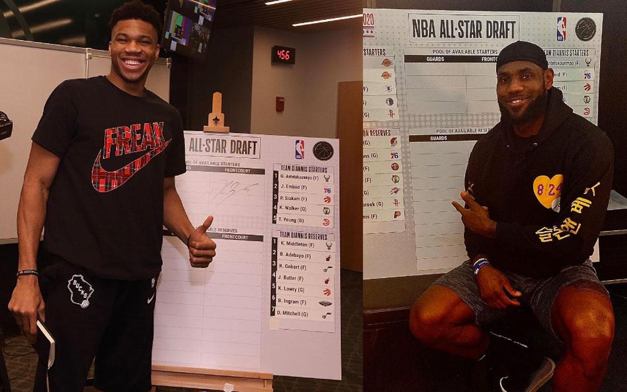 NBA All Star'da Lebron ve Giannis'in kadroları belli oldu