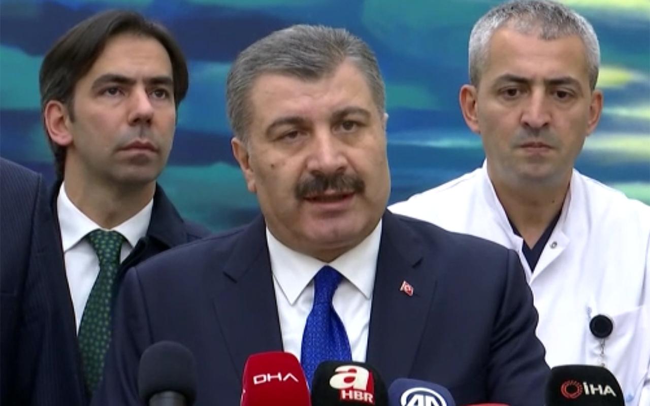 Sağlık Bakanı Fahrettin Koca uçak kazasında yaralananları ziyaret etti