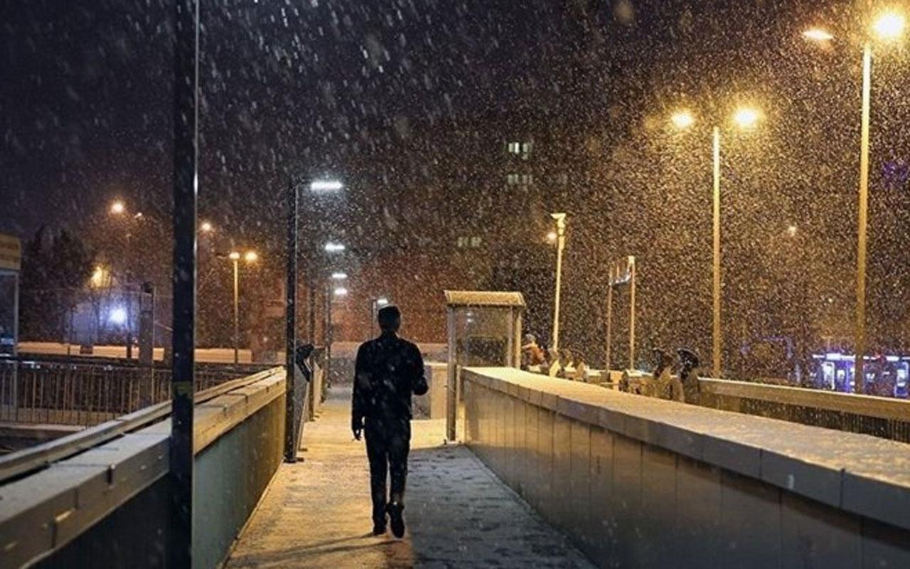 İstanbul Valiliği'nden kar ve don uyarısı