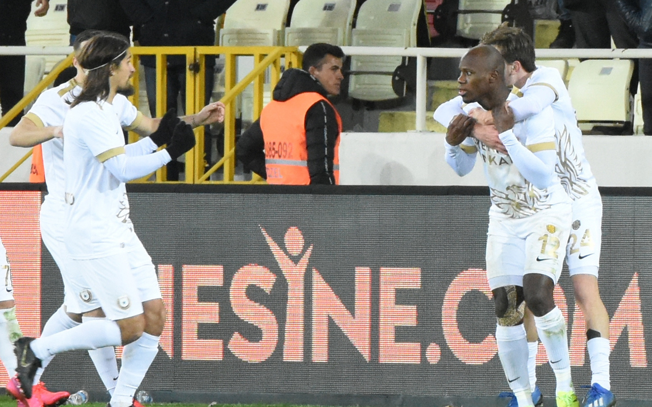 MKE Ankaragücü BtcTurk Yeni Malatyaspor'u 1-0 yendi