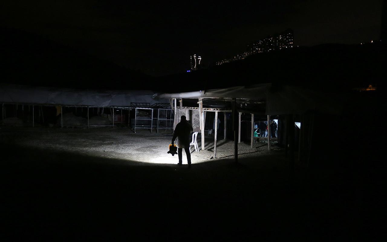 Ankara'da korkunç olay Boş arazide kesik insan başı bulundu