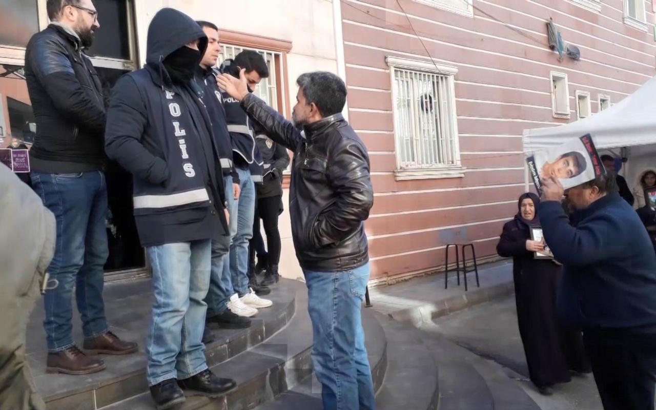Diyarbakır'da HDP binasının önünde gerginlik